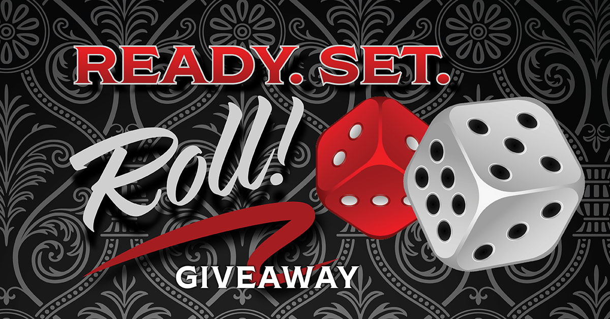READY, SET, ROLL GIVEAWAY
