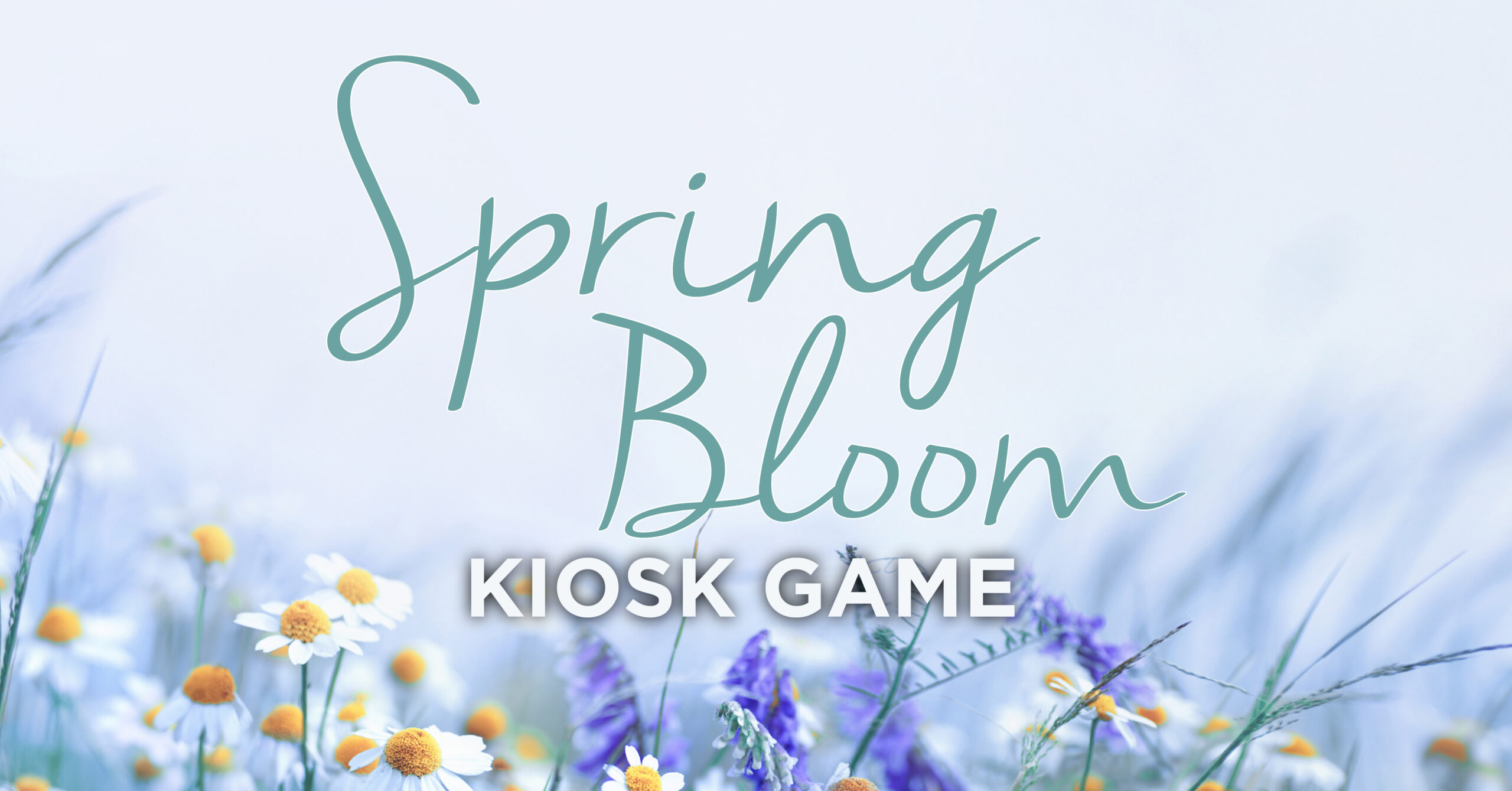 SPRING BLOOM – KIOSK GAME